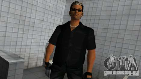 Tommy In Black для GTA Vice City второй скриншот