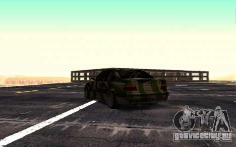 BMW M3 E36 Hunter для GTA San Andreas вид справа
