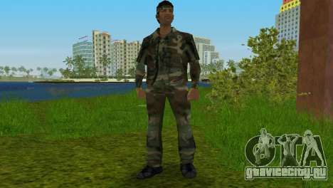Original VC Camo Skin для GTA Vice City