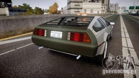 DeLorean DMC-12 [Final] для GTA 4 вид сзади слева
