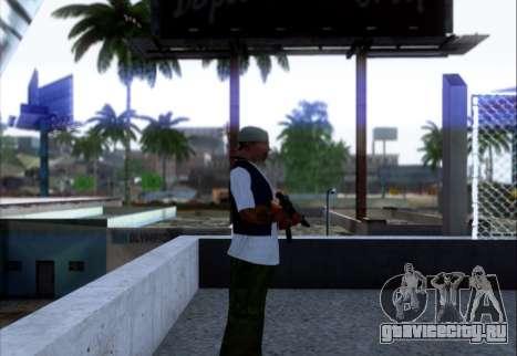 АКМн с ПБС для GTA San Andreas второй скриншот