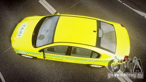 Holden Commodore Omega Series II Taxi v3.0 для GTA 4 вид справа