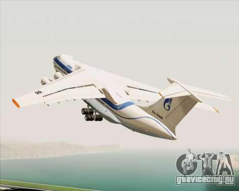 ИЛ-76ТД Газпром авиа для GTA San Andreas