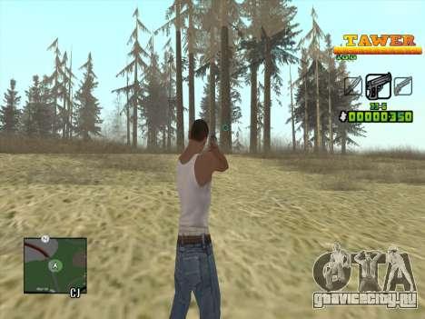 С-HUD by D.Strap для GTA San Andreas второй скриншот
