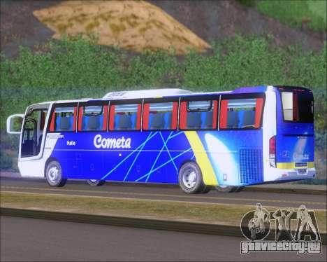 Busscar Vissta Buss LO Cometa для GTA San Andreas вид справа