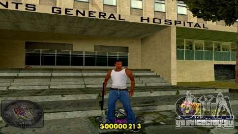 C-HUD Barcelona для GTA San Andreas