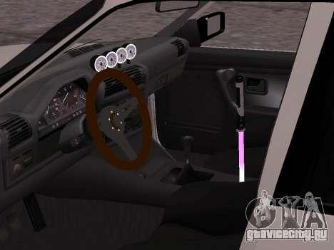 BMW M3 E30 Drift для GTA San Andreas вид сзади слева