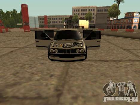BMW M3 E30 Drift для GTA San Andreas вид слева