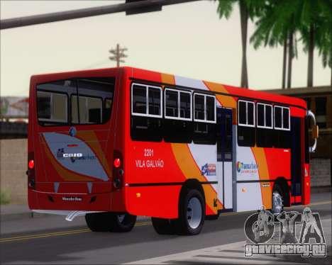 Caio Foz Super I 2006 Transurbane Guarulhoz 2201 для GTA San Andreas вид сбоку