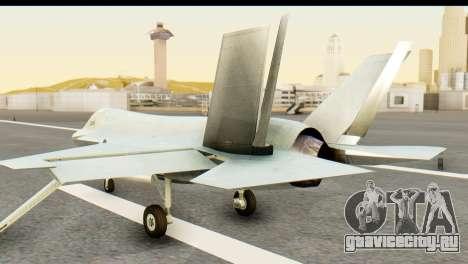 F-35B Lightning II Hatsune Miku Version для GTA San Andreas вид слева