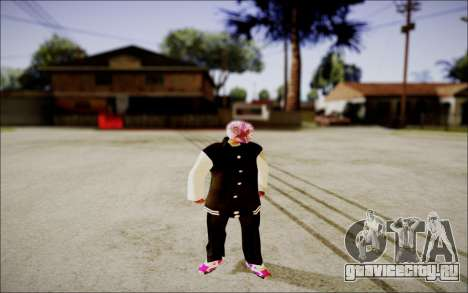 Ghetto Skin Pack для GTA San Andreas третий скриншот