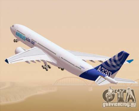Airbus A330-200 Airbus S A S Livery для GTA San Andreas вид слева