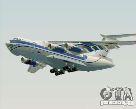 ИЛ-76ТД Газпром авиа для GTA San Andreas двигатель