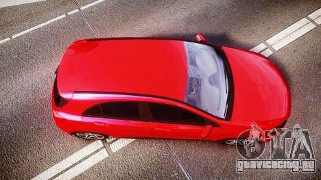 Mersedes-Benz A45 AMG для GTA 4 вид справа