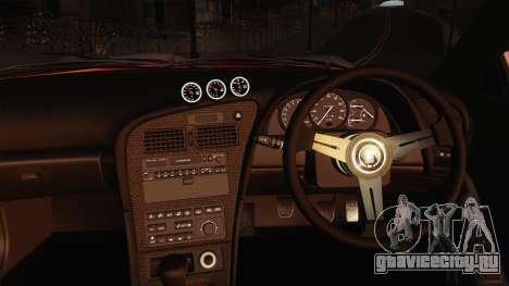 Toyota Celica GT-Four для GTA San Andreas вид изнутри