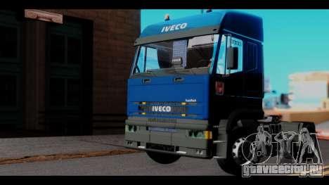 Iveco Eurotech (No Snow) для GTA San Andreas вид справа
