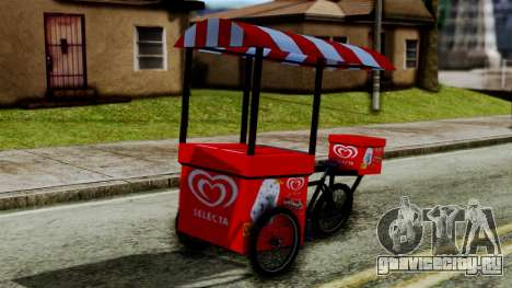 Selecta Ice Cream Bike для GTA San Andreas