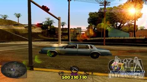 C-HUD Barcelona для GTA San Andreas второй скриншот