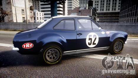 Ford Escort RS1600 PJ52 для GTA 4 вид слева