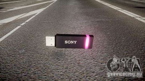 USB-флеш-накопитель Sony purple для GTA 4