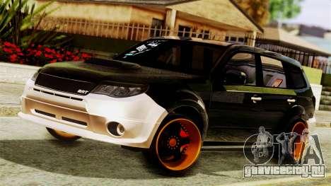 Subaru Forester Stanced для GTA San Andreas