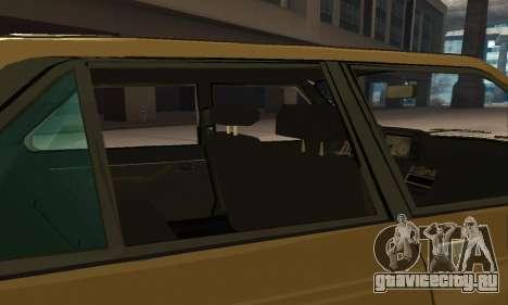 Renault 18 для GTA San Andreas колёса