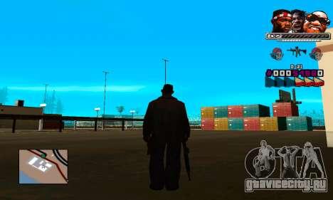 C-HUD Will для GTA San Andreas