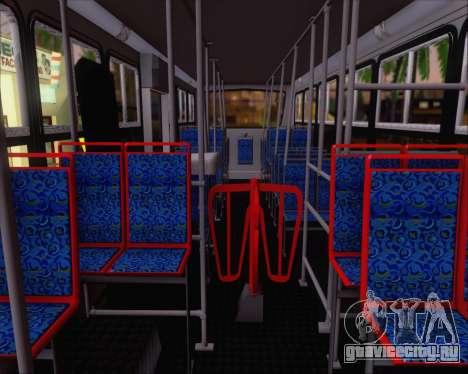 Caio Foz Super I 2006 Transurbane Guarulhoz 2201 для GTA San Andreas вид изнутри