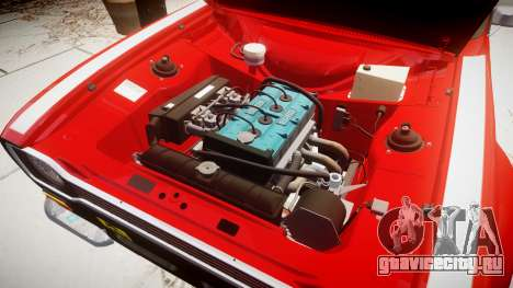 Ford Escort RS1600 PJ63 для GTA 4 вид сзади