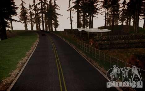 Fourth Road Mod для GTA San Andreas седьмой скриншот