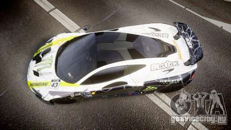McLaren P1 2014 [EPM] Ken Block для GTA 4 вид справа