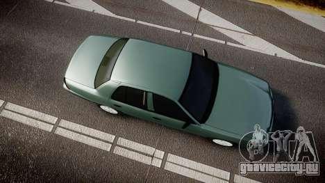 Ford Crown Victoria Police Interceptor [ELS] для GTA 4 вид справа