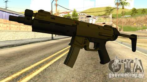 MP5 from GTA 5 для GTA San Andreas