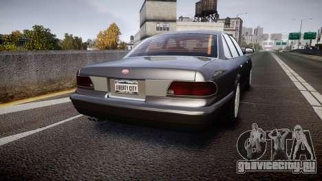 GTA V Vapid Stanier Stock для GTA 4