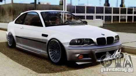 BMW M3 E46 Sport PG для GTA San Andreas