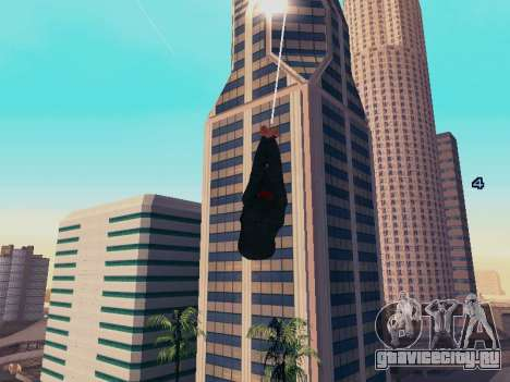 Spiderman Swinging v2.1 для GTA San Andreas