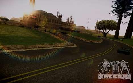 Fourth Road Mod для GTA San Andreas третий скриншот