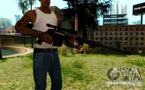 Cheytac M200 Black для GTA San Andreas второй скриншот