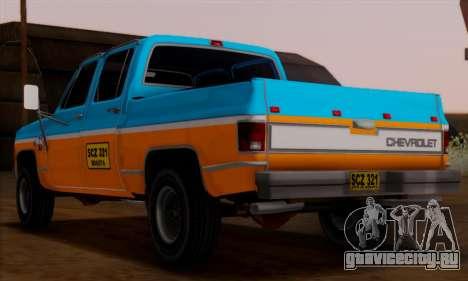 Chevrolet Custom Deluxe для GTA San Andreas вид слева