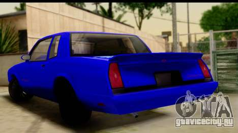 Chevy Monte Carlo для GTA San Andreas вид слева