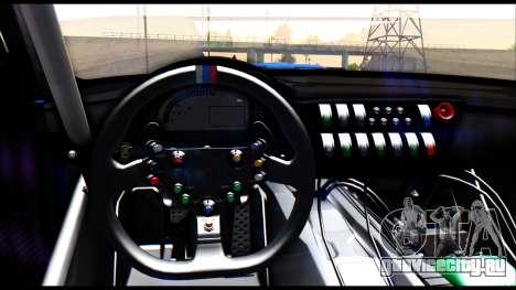 BMW Z4 GT3 для GTA San Andreas вид справа