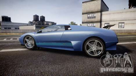 Pegassi Infernus GTA V Style для GTA 4 вид слева