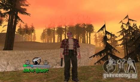 C-HUD Groove для GTA San Andreas
