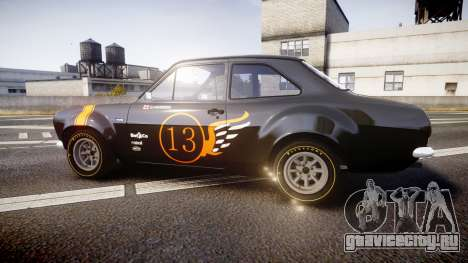 Ford Escort RS1600 PJ13 для GTA 4 вид слева