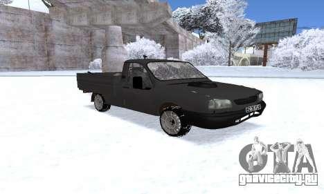 Dacia 1305 Papuc Pick-Up Drop Side 1.9D для GTA San Andreas