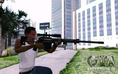 Cheytac M200 Black для GTA San Andreas четвёртый скриншот