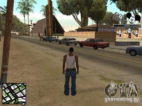 C-HUD Evil Mickey для GTA San Andreas второй скриншот