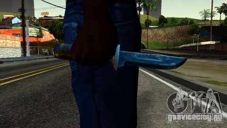 Knife from Kuma War для GTA San Andreas третий скриншот