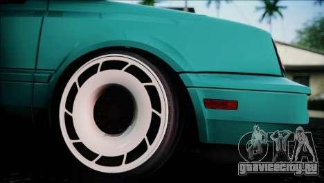 Volkswagen Golf Mk3 Hawaii Style для GTA San Andreas вид справа