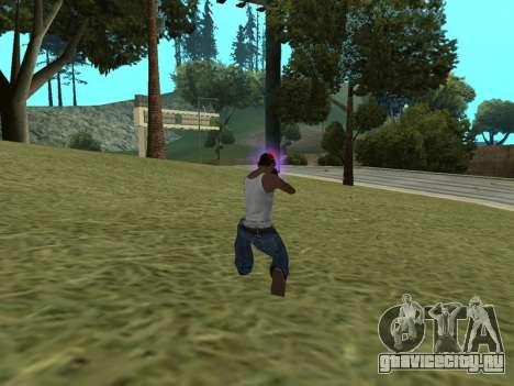 Не отцепляющийся прицел для GTA San Andreas